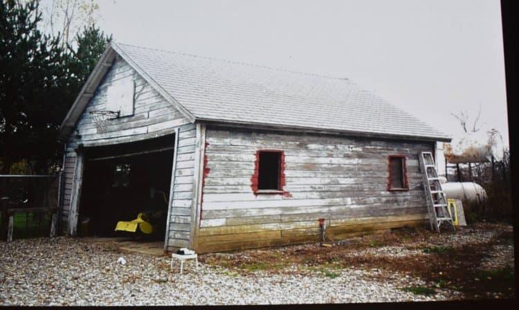 The old garage inspiration for Big City Greens