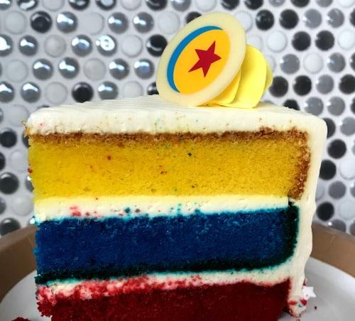 Disneyland pixar fest cake