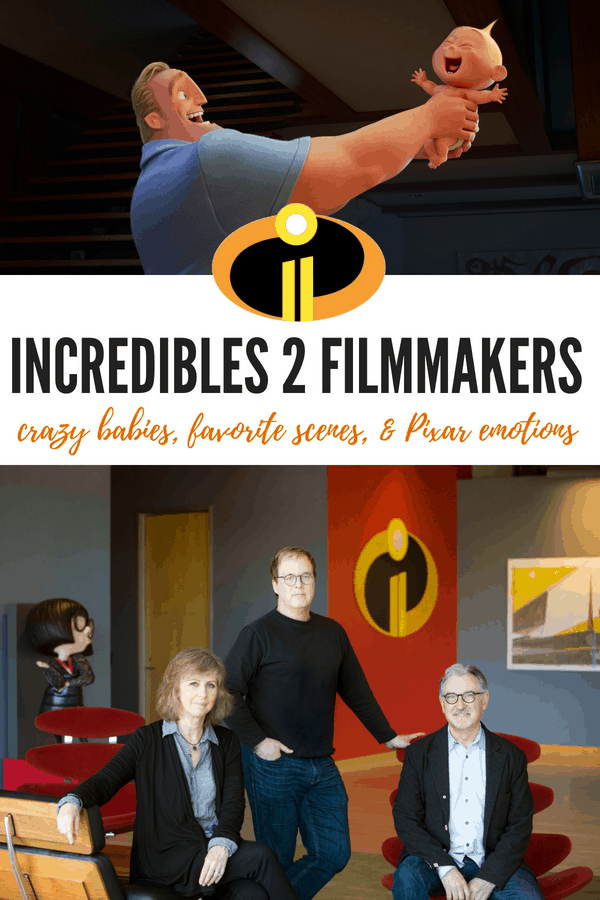 John Walker, Nicole Grindle & Brad Bird Dish on Incredibles 2 & Crazy Babies | #Incredibles2Event #Pixar #Incredibles #movies #interviews #Incredibles2