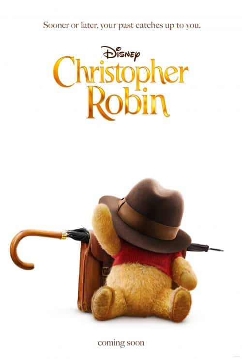 Christopher Robin movie poster pooh