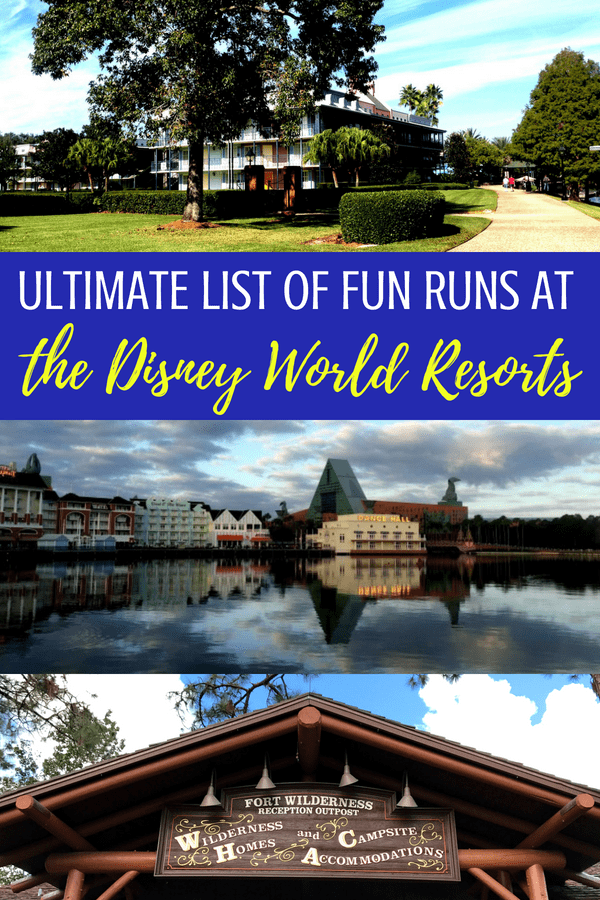 Did you know about the Disney World Resort Fun Runs? Derby Dash, Beignet Dash, Southernmost Point 3K, are just a few! #DisneyWorld #running #runDisney #disneytravel #disneytips #traveltips #familytravel