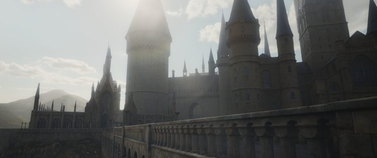 Hogwarts Castle is in most of the harry potter movies list