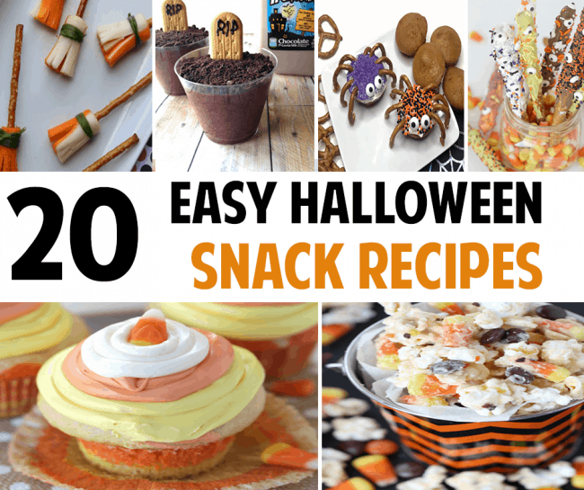 20 Easy Halloween Snack Ideas for Your Next Halloween Party