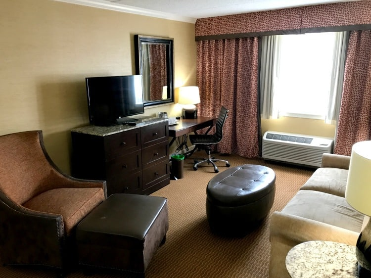 Suite at Hershey Lodge Hershey PA