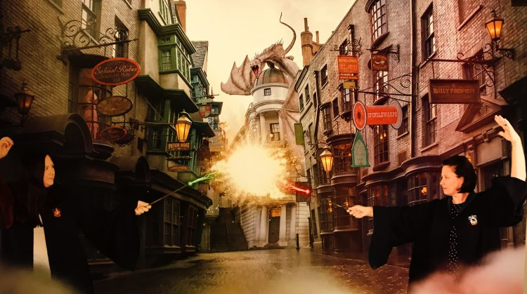Diagon Alley Dueling Harry Potter Movies List
