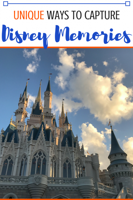Look beyond the typical Disney souvenirs & don't forget a thing about your Disney trip! Here are a few unique ways to remember your Disney vacation. #Disney #Disneyworld #Disneyland #Disneycruise #vacation #familytrip #familyvacation