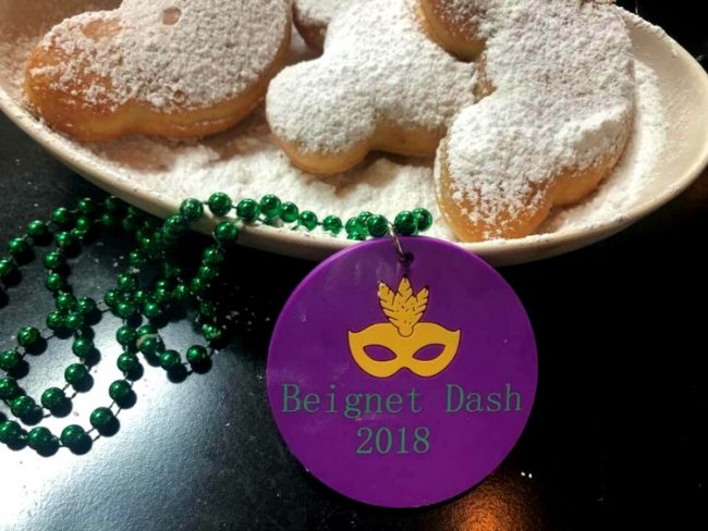 Beignet Dash fun run at <a href=