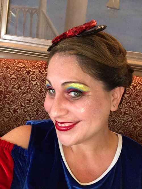 character couture styles: snow white makeover at Disney World