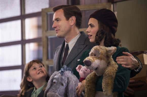 The family of Christopher Robin movie