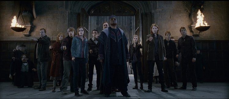 List of harry potter movies order includes watching Harry Potter and the Deathly Hallows