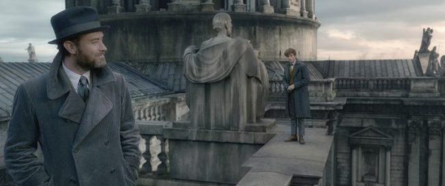 Harry Potter movies order includes the Fantastic Beasts: Crimes of Grindlewald Dumbledore and Newt Scamandar