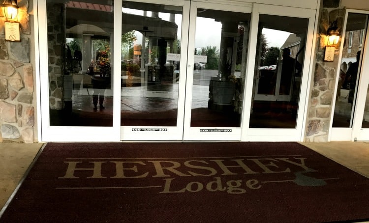 hershey lodge hershey pa entrance