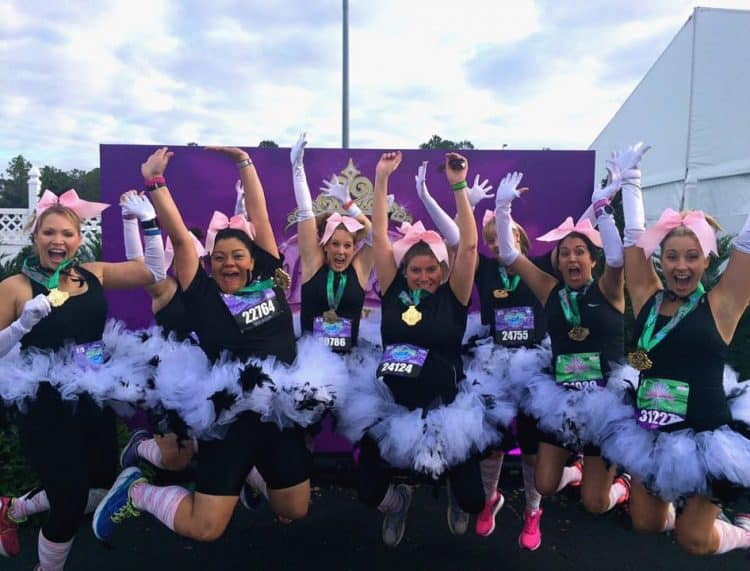 The ultimate guide to runDisney princess 10K jumping picture