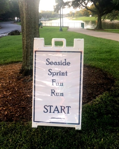 seaside sprint disney world resort fun run