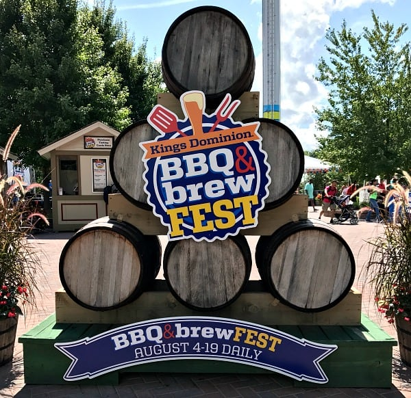 Kings Dominion BBQ and Brew Fest 2018