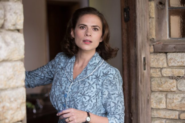 Hayley Atwell plays Evelyn Robin in Christopher Robin