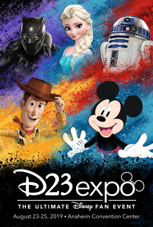 2019 D23 expo poster