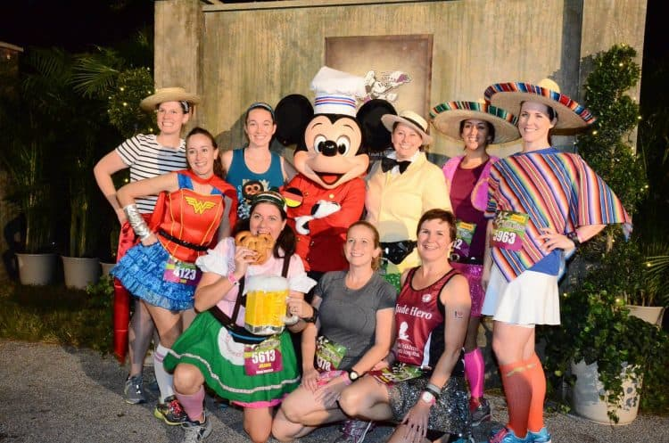 rundisney Wine and Dine 2013 race costumes