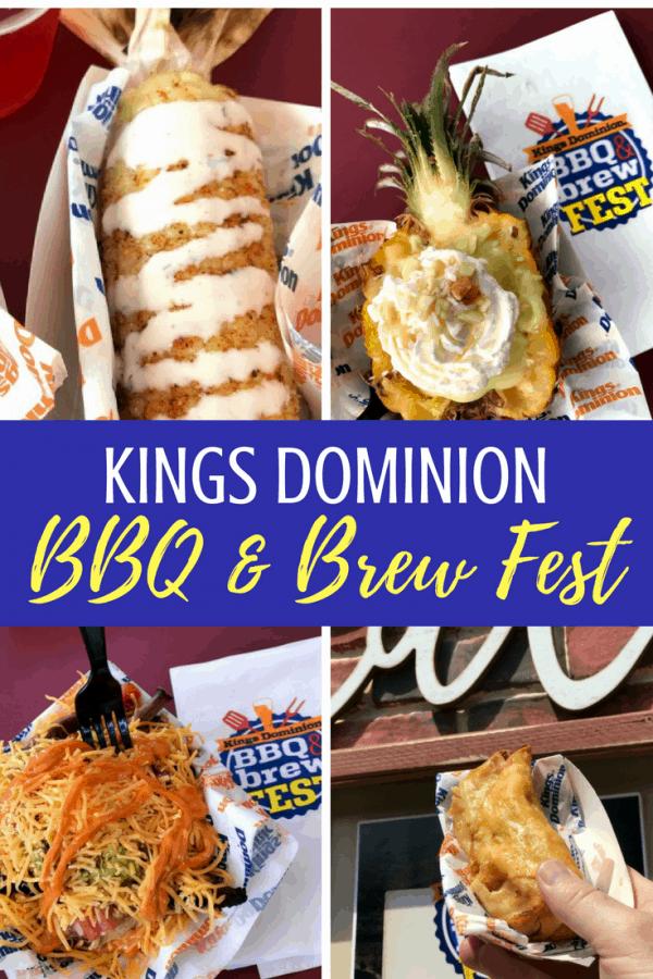 Kings Dominion BBQ & Brew Fest: all the details for summer fun at this Virginia theme park! #Virginia #bbq #beer #sweettea #icedtea #themeparks #kingsdominion #familytravel
