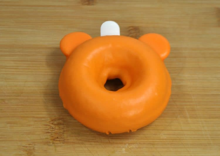 Mickey Pumpkin Donut stem