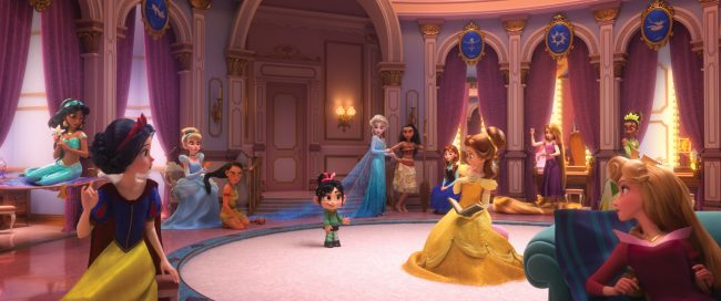 """Ralph Breaks the Internet: Wreck It Ralph 2 Princess Scene"
