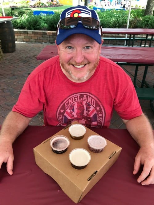 Kings Dominion BBQ and Brew Fest 2018 Beer Flight: $15