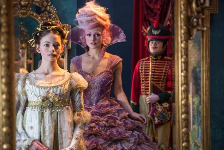 Mackenzie Foy is Clara and Keira Knightley is the Sugar Plum Fairy THE NUTCRACKER AND THE FOUR REALMS