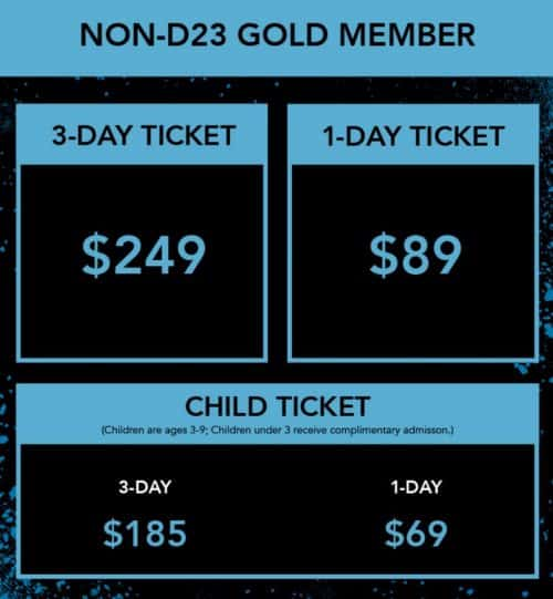 d23 expo pricing non member