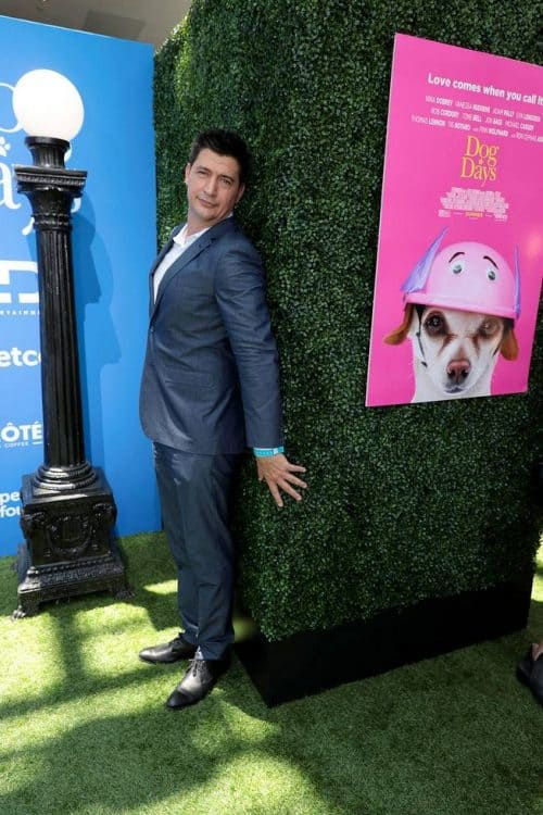 "Ken Marino at the World Premiere of LD Entertainment?s, ""Dog Days"""