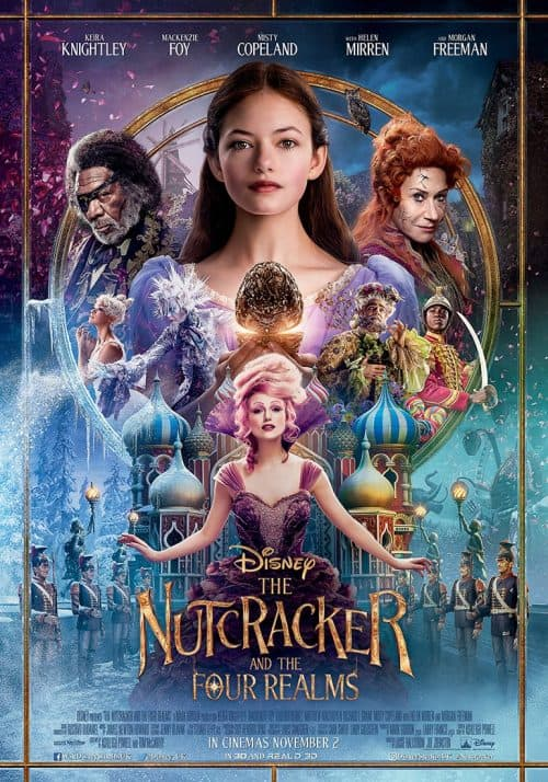 The Nutcracker and the Four Realms poster: Movie opens Nov 2!