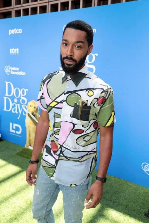 "Tone Bell at the World Premiere of LD Entertainment's, ""Dog Days"" Dog Days red carpet"