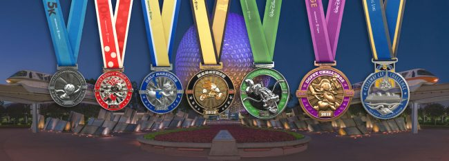 2019 disney world marathon medals
