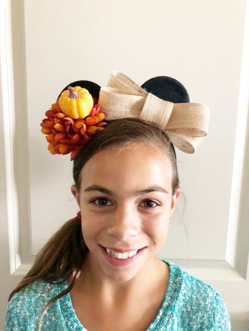 custom mickey ears DIY