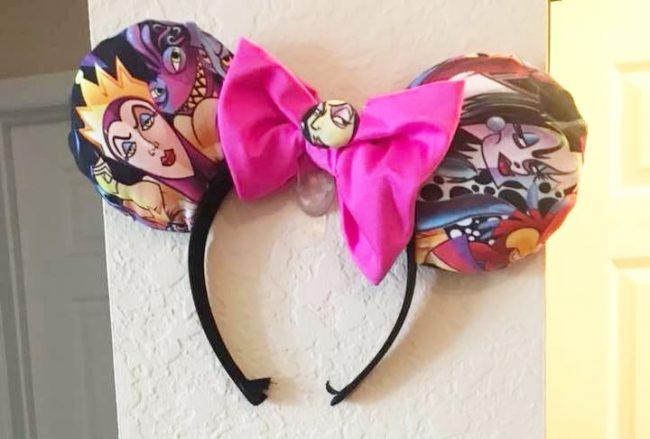Villains Custom Mickey Ears DIY