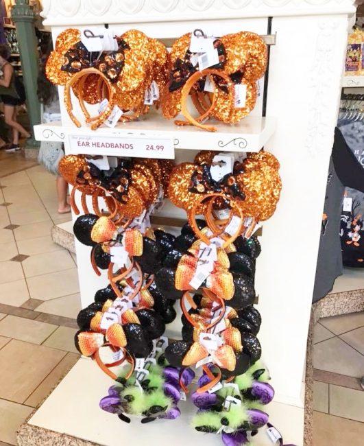 Disney Parks Halloween Mickey Ears Headbands