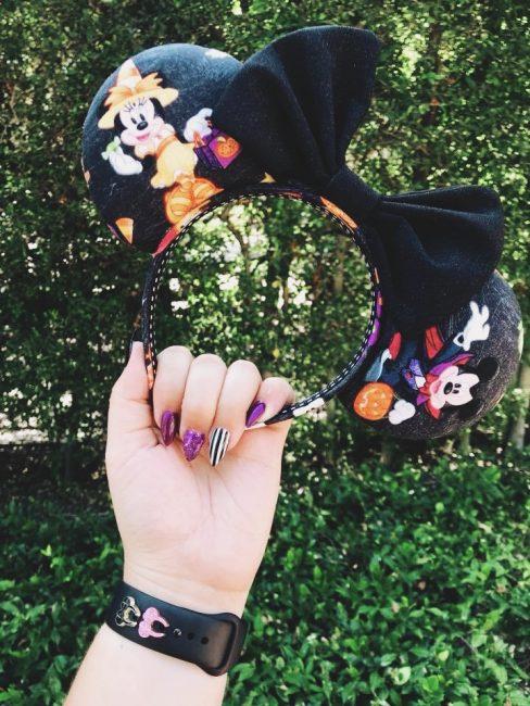 Halloween Mickey Ears from Etsy