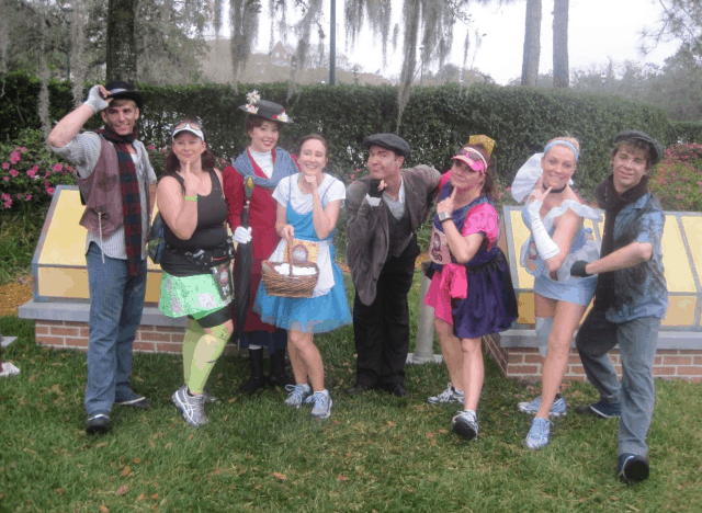 MAry Poppins Princess Half Marathon