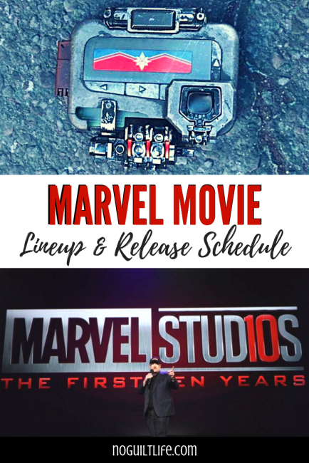 Marvel Movie Lineup & MCU Release Schedule. Follow the Marvel movies in order over the next few years!