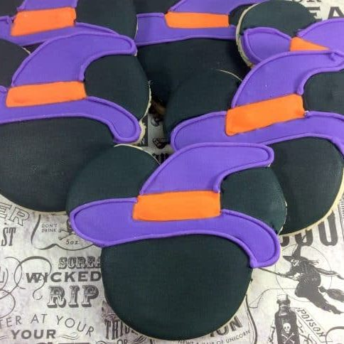 Witch Mickey Mouse Cookies