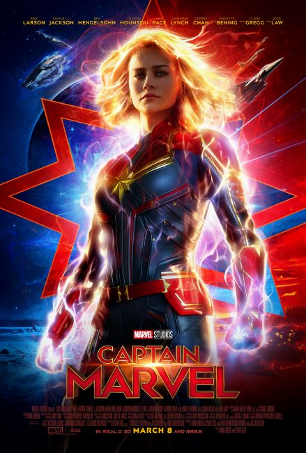 2019 Marvel Movie lineup: Captain Marvel Movie Poster