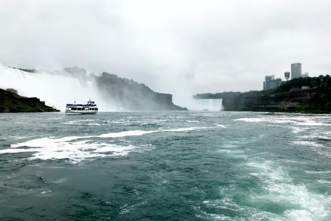 maid of the mist niagara falls boat tour