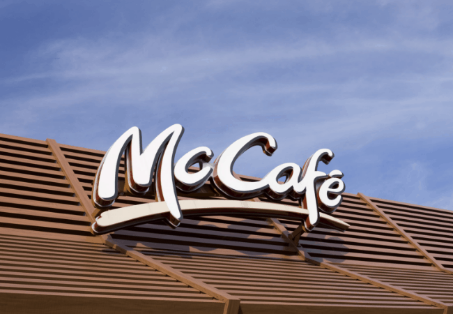 mc cafe from mc donalds coffee
