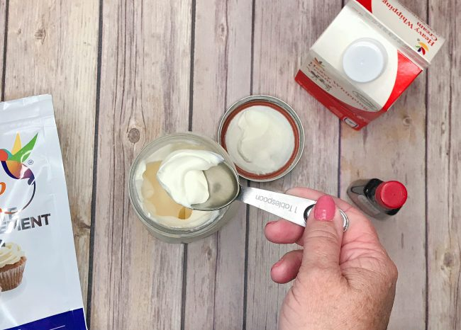 keto whipped cream