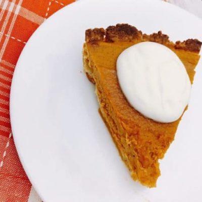Keto Pumpkin Pie | Easy Keto Desserts For The Holidays