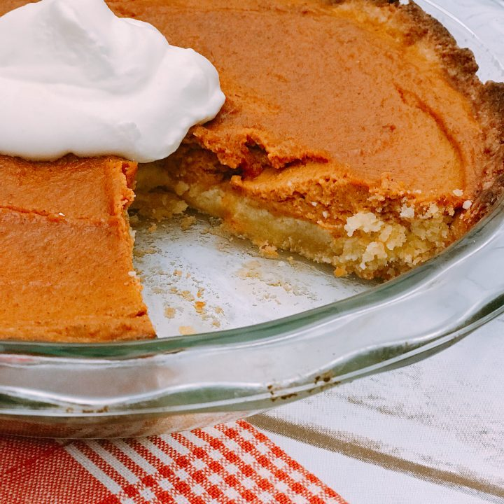Keto Pumpkin Pie | Easy Keto Desserts For Thanksgiving