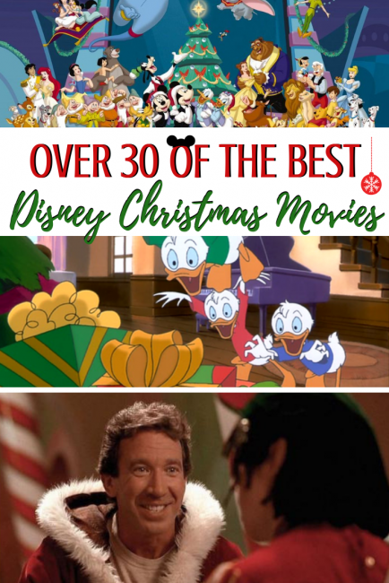 30 of the best Disney christmas movies