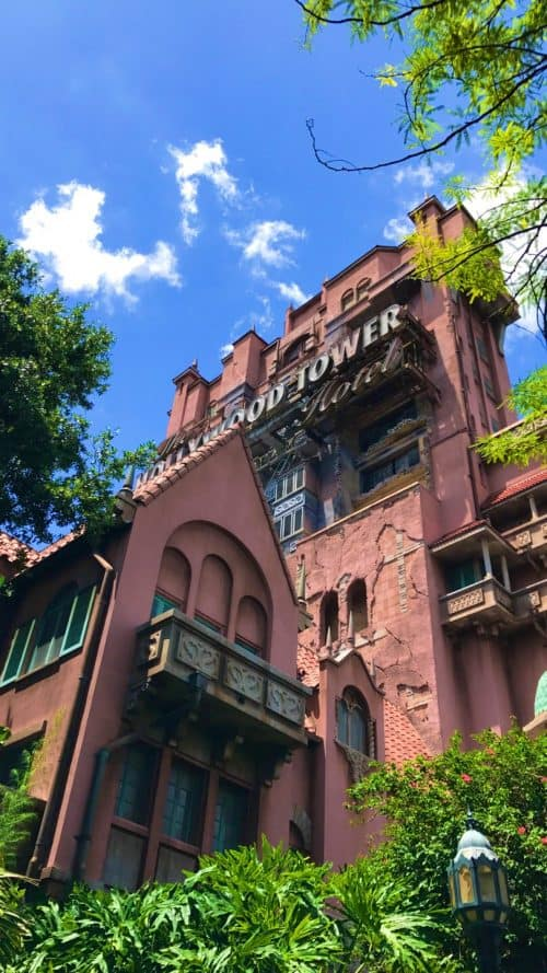 Hollywood Tower of Terror at Disney World