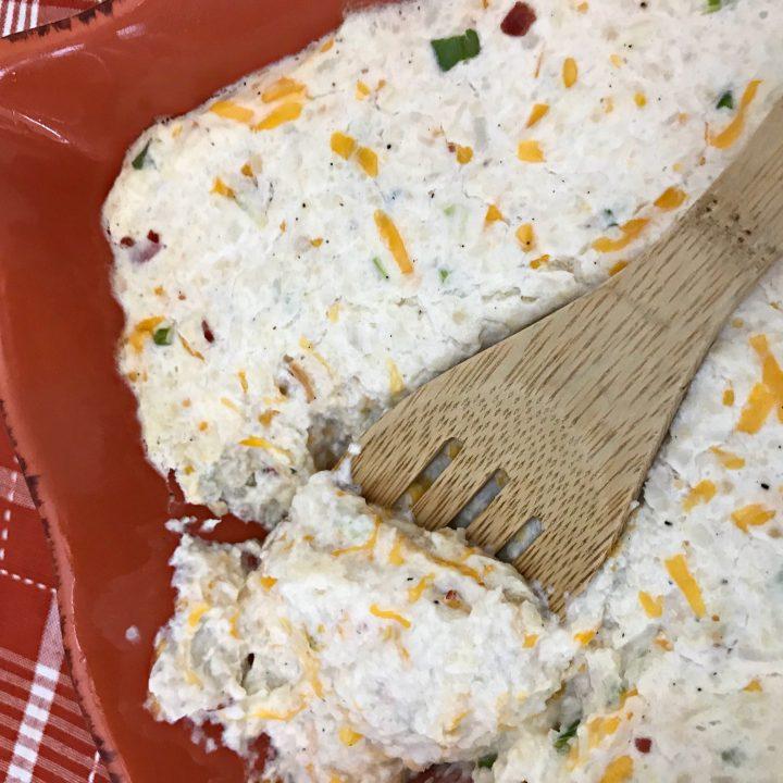 I Can't Believe It's Not Potato | Keto Twice Baked Cauliflower Mash