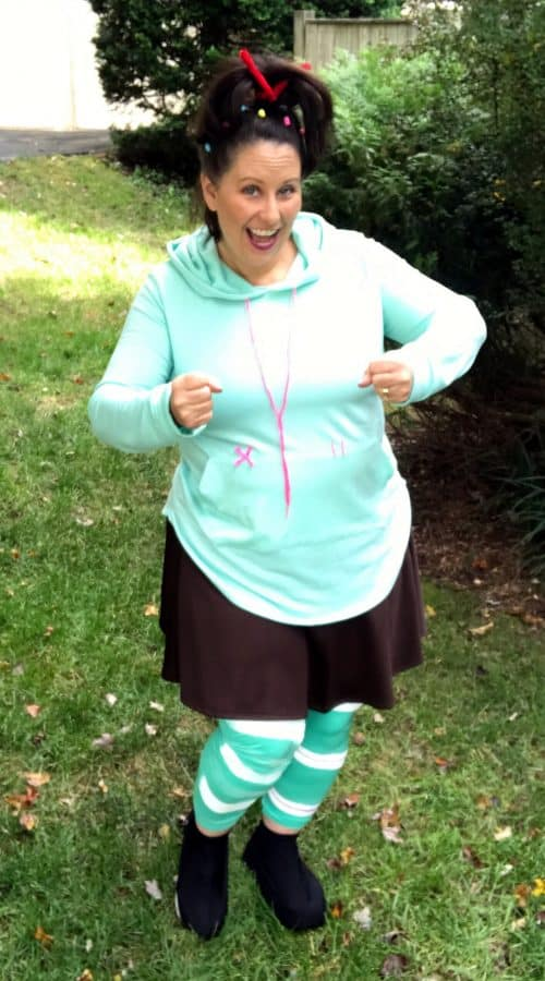 vanellope DIY running costume