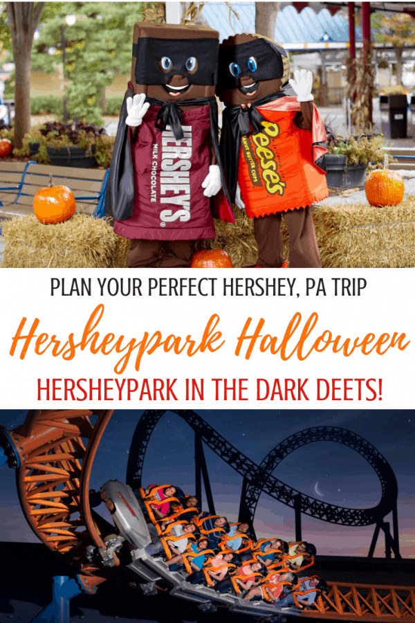 Chocoholics: this one's for you! Plan your perfect Hershey, PA trip for a Hersheypark Halloween. Hersheypark in the Dark (like, literally in the dark in some instances!), Chocolate World, ZooAmerica offerings and more!